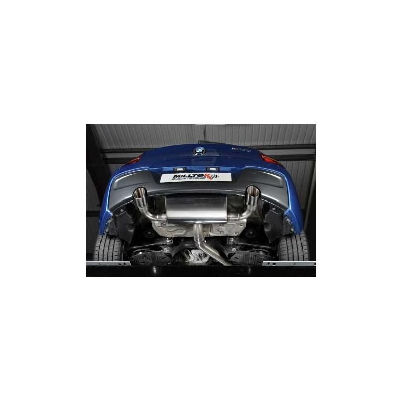 Silencieux d'échappement MILLTEK BMW M135i (F20/F21) (2012-2016)(Homologué)