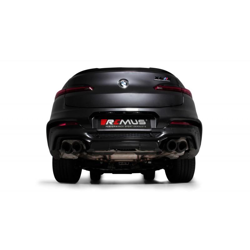 Echappement REMUS BMW X4M / X4 M COMPETITION FAP 480/510Ch (F98)(05/2019+)-Ligne Cat-Back Racing