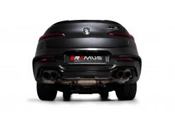 Echappement REMUS BMW X4M / X4 M COMPETITION FAP 480/510Ch (F98)(05/2019+)-Silencieux Sport