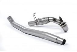 Downpipe + Suppression catalyseurs MILLTEK VW Golf 7 & 7.5 GTI + Performance + Clubsport Sans FAP (2013-2018)