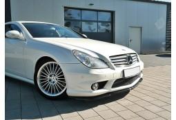 Lame de Spoiler avant Mercedes Maxton Design CLS55 AMG W219 (2004-2006)