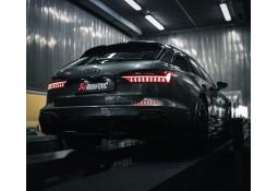 Echappement AKRAPOVIC Audi RS6 C8 / RS7 C8 (2020+)- Ligne Fap-Back à valves