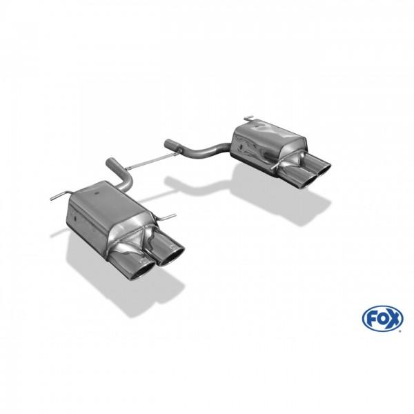 Echappement FOX Mercedes SLK 200K/350/280 (R171) -Silencieux 4 Sorties look AMG