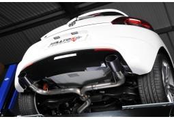 Ligne d'échappement Cat-Back MILLTEK VW Scirocco R 2,0 TSI (2009-2016)