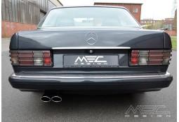 Echappement MEC DESIGN Mercedes Classe S 380 / 420 / 500 / 560 SE SEL SEC (W126)-Ligne Cat-Back