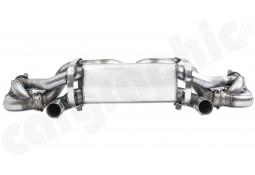 Echappement CARGRAPHIC Porsche Boxster / Cayman GTS & Spyder 4,0l (718/982) (2019+) - Silencieux en X-Pipe à valves Racing
