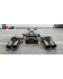 Echappement CENDE Exhaust BMW M3 E90/E92/E93 (2007-2013)- Ligne Cat-Back à valves F1