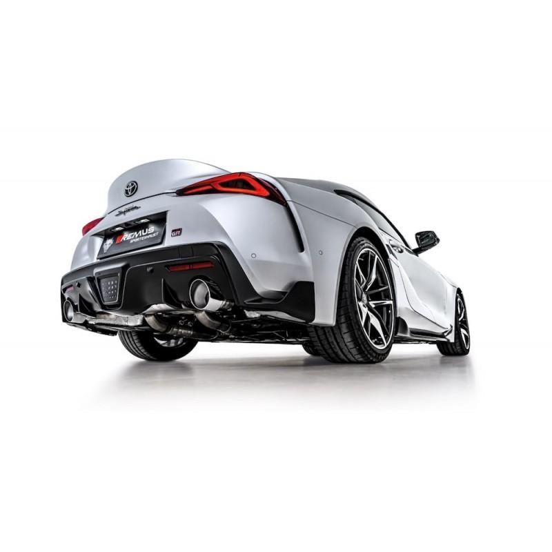 Echappement REMUS Toyota GR Supra 3,0 Turbo FAP/OPF (03/2019+)- Silencieux à valves Homologué
