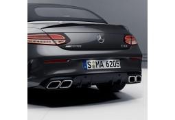 Diffuseur arrière + embouts échappements C63 AMG Facelift Mercedes Classe C Coupé (C/A205) Pack AMG (12/2015+)