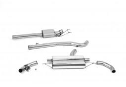 Ligne d'échappement FAP-Back à valves MILLTEK Mercedes A45 A45S AMG (W177) (2019+)(Homologué)