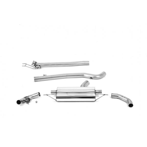 Ligne d'échappement FAP-Back à valves MILLTEK Mercedes A45 A45S AMG (W177) (2019+)(Sport)