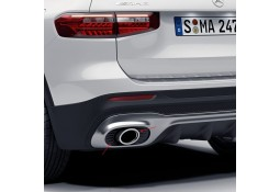 Embouts échappements GLB35 AMG pour Mercedes GLB Pack AMG (X257)(11/2019+)
