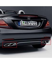 Embouts échappements SLC43 AMG pour Mercedes SLC Essence(R172)(04/2016+)