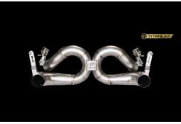 Echappement Ferrari 488 Pista IPE INNOTECH F1 Titane - Tubes de sortie à valves