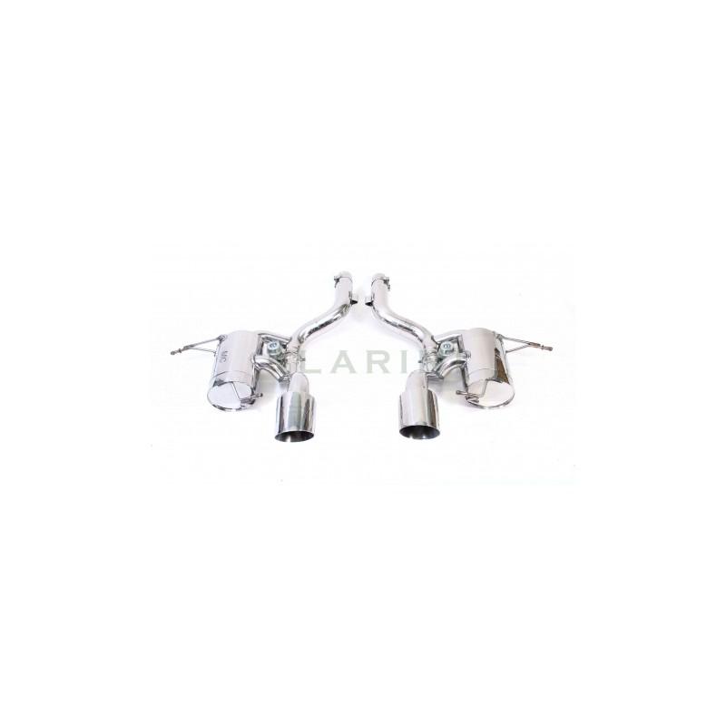 Echappement inox LARINI Maserati Granturismo MC STRADALE - Silencieux à valves