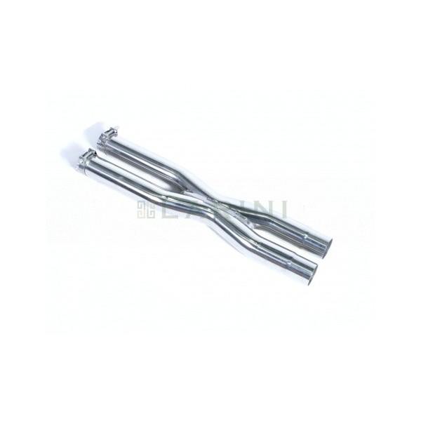 X-pipe inox LARINI Maserati Granturismo MC STRADALE