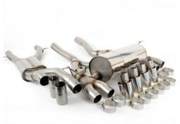 Ligne d'échappement FAP-Back à valves MILLTEK BMW M3 / M4 (+Compétition) FAP/OPF (F80/F82/F83) (2019+) (RACE)