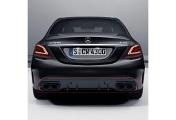 Diffuseur arrière + embouts échappements C43 AMG Facelift Mercedes Classe C Berline/Break (W/S205) Pack AMG (03/2014+)