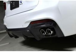 Diffuseur arrière en Carbone 3DDesign pour Bmw X6 F16 Pack M