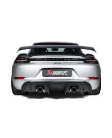 Echappement AKRAPOVIC Porsche 718 Cayman GTS  + 718 Boxster GTS 4,0 FAP (2020+)-Silencieux Race