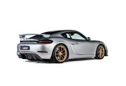 Diffuseur arrière Carbone AKRAPOVIC Porsche 718 Cayman GTS  + 718 Boxster GTS 4,0 FAP (2020+)