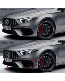 Spoiler avant + flaps A45S AMG pour Mercedes Classe A45 +S (W177)
