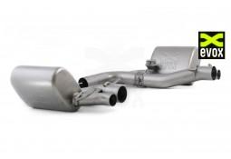 Echappement EVOX Mercedes C63 AMG (W205) - Silencieux à valves (2014+)
