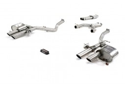 Echappement QUICKSILVER Range Rover Velar SVA P550 (2020+) - Ligne Fap-Back à valves
