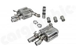 Echappement CARGRAPHIC Porsche Panamera 971  + Sport Turismo 4 / 4S / 4 E-Hybrid / Turbo / Turbo S E-Hybrid -Silencieux à valves