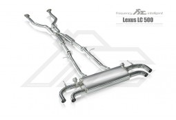 Echappement Fi EXHAUST LEXUS LC500h (2017+)- Ligne Cat/Fap-Back à valves