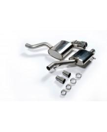 Ligne d'échappement Cat-Back MILLTEK Sport pour AUDI S3 2,0T (3P) Quattro 8P (2006-2012)(Homologuée)