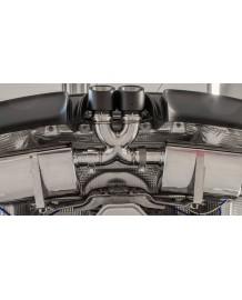 Embouts Echappement X-Version CARGRAPHIC Porsche Boxster & Cayman + S GTS 718/982 (2016+)