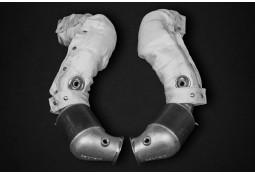 Descente de turbo avec suppression Catalyseurs CAPRISTO Aston Martin New Vantage 4.0 V8 (2018+)