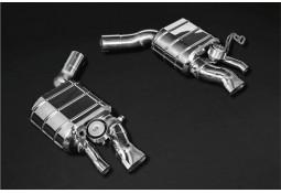 Echappement CAPRISTO BENTLEY Continental GT (03/2018+) - Ligne Cat/Fap-Back à valves