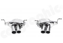 Echappement CARGRAPHIC Maserati Coupe / Spyder 4200 GT - Maserati GranSport -Silencieux à valves