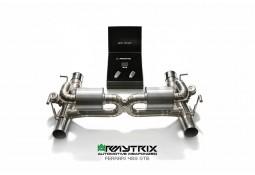 Echappement ARMYTRIX Ferrari 488 GTB/SPIDER (2015+) - Silencieux à valves