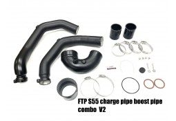 Kit Boost & Charge Pipes FTP Motorsport BMW M2 Competition (F87) & BMW M3 F80 M4 F82 F83