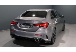 Diffuseur LORINSER + Embouts d'échappement Mercedes Classe A (W/V177) Pack AMG (2018+)