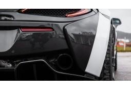 Extensions latérales de pare-chocs arrière Carbone NOVITEC McLaren 620R