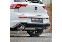 Echappement inox REMUS Golf 8 GTI 2,0 TSI 245ch FAP (2021+)- Ligne Fap-Back (Homologuée)