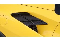 Prises d'air Latérales Carbone N-Largo NOVITEC Ferrari 488 GTB/Spider