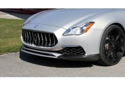 Spoiler Avant Carbone NOVITEC pour Maserati Quattroporte Gran Lusso (08/2016+)