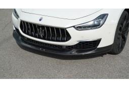 Spoiler avant NOVITEC Maserati Ghibli GRAN LUSSO (Carbone) (09/2017+)