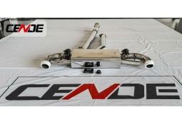 Echappement CENDE Exhaust Mercedes A45 AMG W176 (2012-2018)- Ligne Cat-Back à valves