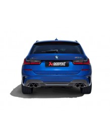 Echappement AKRAPOVIC BMW M340i +xD (G20/G21) / M440i+xD (G22/G23) (2020+)-Silencieux à valves