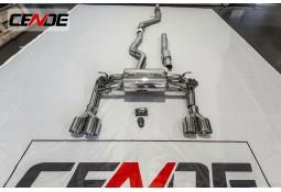 Echappement CENDE Exhaust BMW 335i F30 (N55) (2011-2015) - Ligne Cat-Back à valves