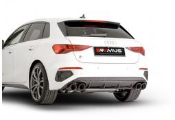 Echappement REMUS Audi S3 2,0 TFSI 310Ch Quattro Sportback  (8Y)(2020+)-Silencieux à valves