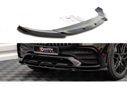 Lame de spoiler avant Maxton Design pour Mercedes GLE Coupé C167 Pack AMG (2020+)
