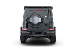 Support de roue de secours + cache en carbone BRABUS ADVENTURE Mercedes G350d G400d G500 G63 AMG W463A (2018+)