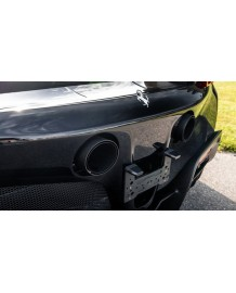 Embouts d'échappement carbone NOVITEC Ferrari SF90